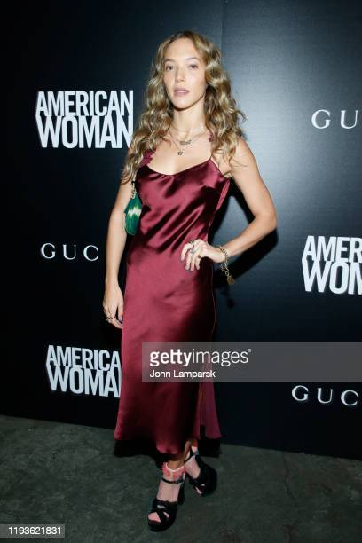 Zoe Buckman attends the screening of American Woman at Metrograph on December 12 2019 in New York City
