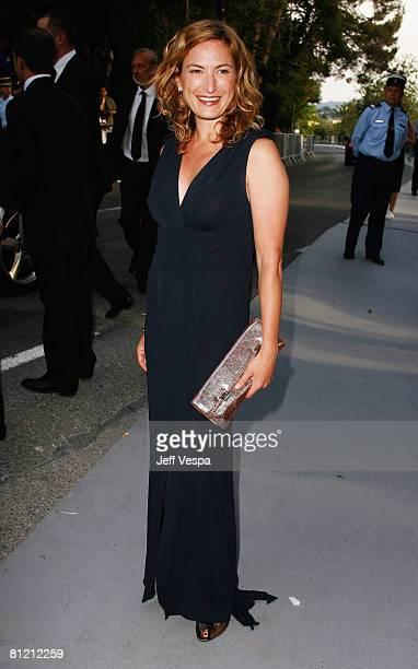 Zoe Cassavetes arrives at amfAR's Cinema Against AIDS 2008 benefit held at Le Moulin de Mougins during the 61st International Cannes Film Festival on...