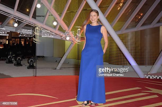 Zoe Cassavetes attends 'Cinecoles Jury members' Photocall 14th Marrakech International Film Festival on December 12 2014 in Marrakech Morocco