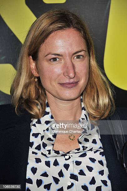 Zoe Cassavetes attends the Somewhere Paris premiere at Cinema Gaumont Marignan on November 4 2010 in Paris France