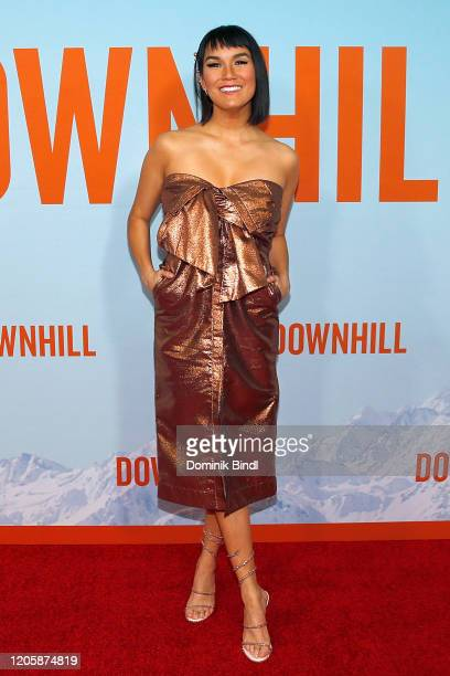 Zoe Chao attends the premiere of Downhill at SVA Theater on February 12 2020 in New York City