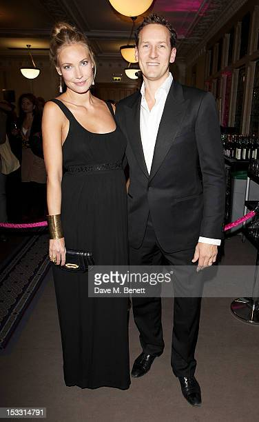 Zoe Cole and Brendan Cole arrive at The Inspiration Awards For Women 2012 at Cadogan Hall on October 3 2012 in London England