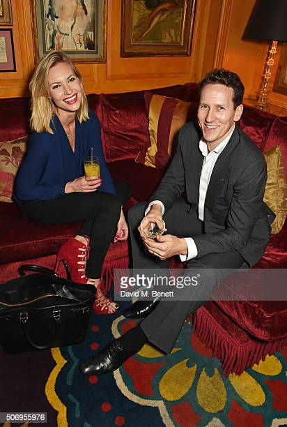 Zoe Cole and Brendan Cole attend the launch of GP Nutrition Supplements a collection of five premium nutritional programmes perfect for modern living...