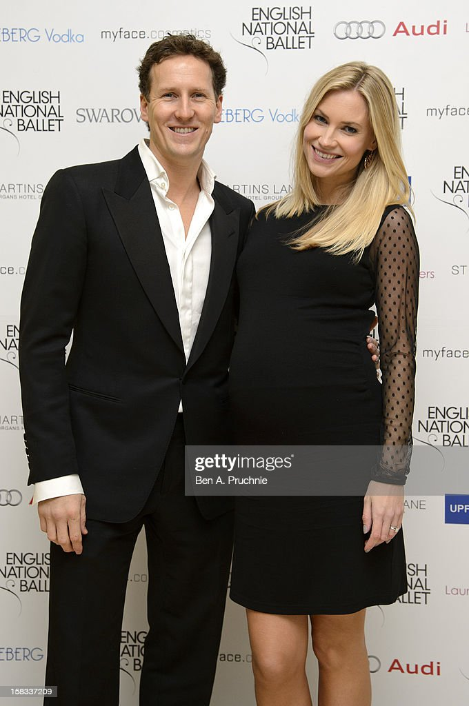 Zoe Cole and Brendan Cole attends the English National Ballets Christmas Party at St Martins Lane Hotel on December 13, 2012 in London, England.