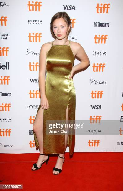 Zoe Colletti attends the 'Skin' premiere during 2018 Toronto International Film Festival at Winter Garden Theatre on September 8 2018 in Toronto...