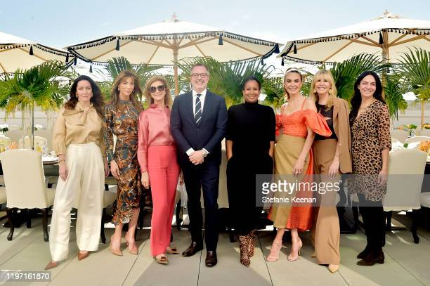 Zoe de Givenchy, Jennifer Flavin Stallone, Dawn Hudson, Bill Kramer, Ambassador Nicole Avant, Elizabeth Chambers, Irena Medavoy and Malak Santini...