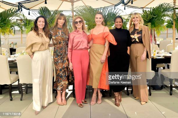 Zoe de Givenchy, Jennifer Flavin Stallone, Dawn Hudson, Elizabeth Chambers, Ambassador Nicole Avant and Irena Medavoy attend Academy Museum of Motion...