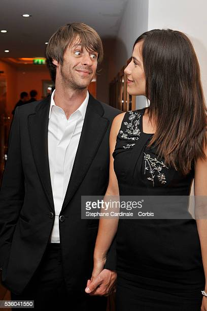 Zoe Felix and Benjamin Rolland at the Dior Party during the 61st Cannes Film Festival