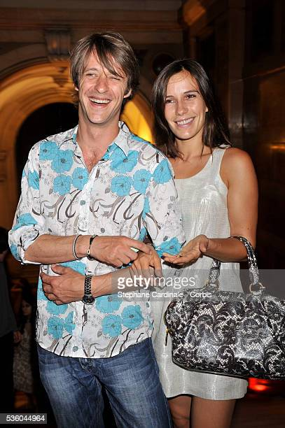 Zoe Felix and Benjamin Rolland attend the official opening dinner of Paris Cinema Festival 2008 held at the Paris Town Hall