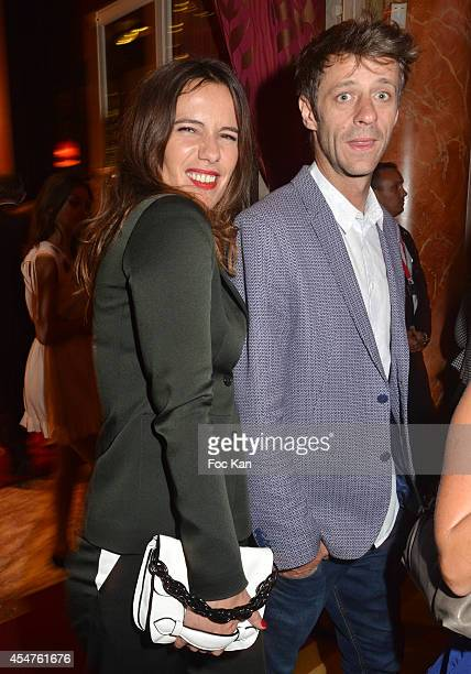 Zoe Felix and Benjamin Rolland attend the Opening Dinner Party 40th Deauville American Film Festival at the Casino Lucien Barriere on September 5...