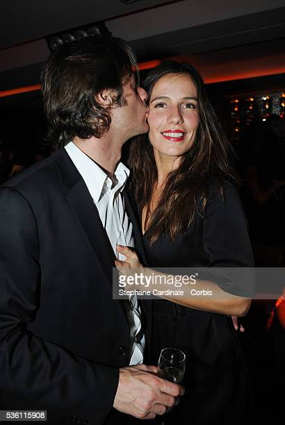 Zoe Felix and Benjamin Rolland attend the Opening Party of the Black Legend Club in Monaco