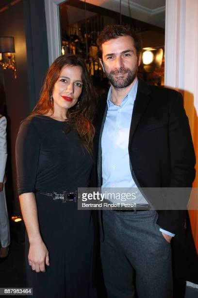 Zoe Felix and Gregory Fitoussi attend the Annual Charity Dinner hosted by the AEM Association Children of the World for Rwanda at Pavillon Ledoyen on...