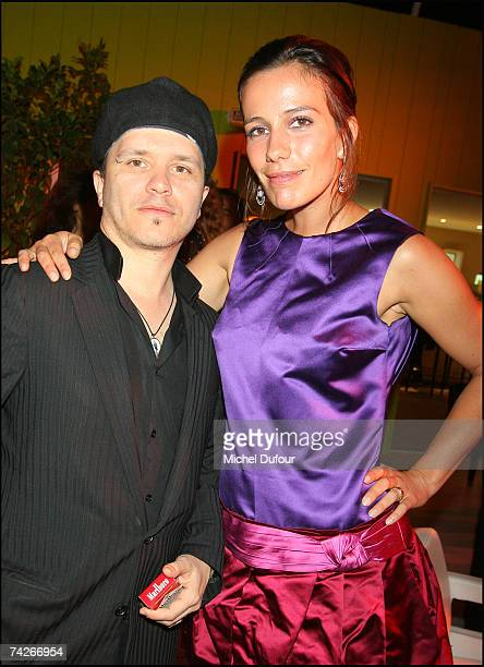 Zoe Felix and guest attend a dinner sponsored by magazine Madame Figaro to celebrate the Sixtieth Anniversary of the IFF on May 23 2007 in Cannes...