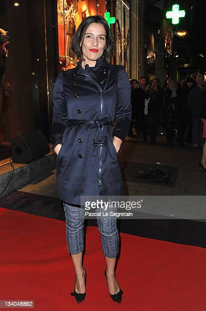 Zoe Felix attends the Lancel celebration of '135 Years Of French Legerete' Hosted By Sienna Miller on November 24 2011 in Paris France