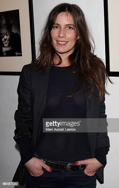 Zoe Felix attends the 'Les Doudous Enchantes' auction and party at Palais De Tokyo on April 15 2010 in Paris France
