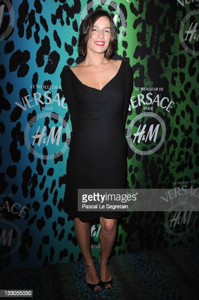 Zoe Felix attends the Versace For HM Collection Launch on November 16 2011 in Paris France