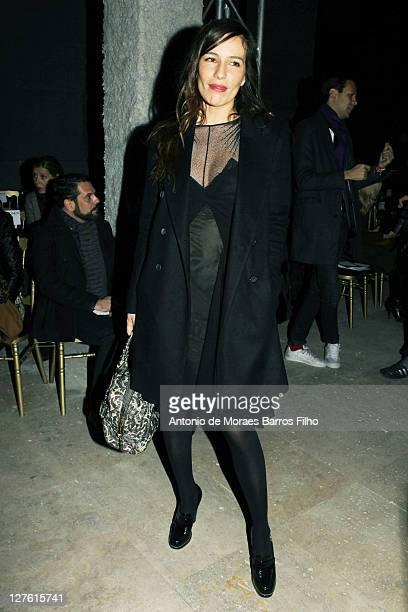 Zoe Felix attends the Zac Posen Ready to Wear Autumn/Winter 2011/2012 show during Paris Fashion Week at Palais De Tokyo on March 3 2011 in Paris...