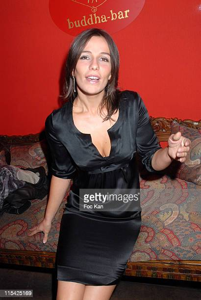 Zoe Felix during Buddha Bar 10th Anniversary Diner Party at Buddha Bar in Paris France
