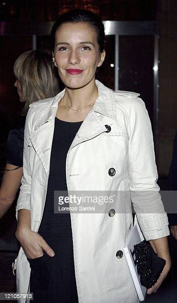 Zoe Felix during Hotel Fouquet's Barriere Opening Party in Paris Arrivals at Hotel Fouquet in Paris France