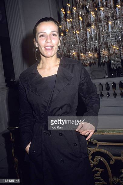 Zoe Felix during ShangriLa Hotels A Paradise Foretaste Party April 27 2006 at Musee Baccarat in Paris France