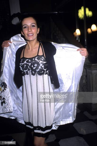 Zoe Felix during Sidaction 2007 Auction Dinner Against AIDS January 25 2007 at Pavillon D Armenonvillle in Paris France