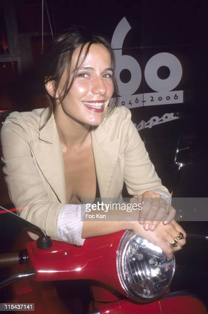 Zoe Felix during Sonia Sieff's Photo Exhibition Celebration Cocktail for the 60th Birthday of the Vespa June 15 2006 at Restaurant Jules et Jim in...