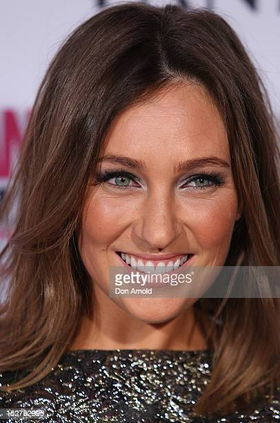 Zoe Foster arrives at the 2012 Fun Fearless Female awards at the Sydney Opera House on September 26 2012 in Sydney Australia