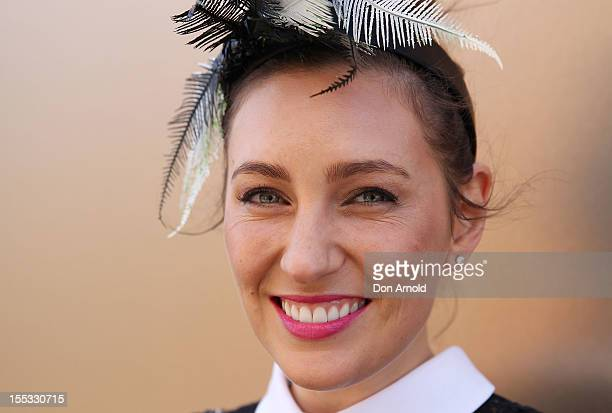 Zoe Foster attends Derby Day at Flemington Racecourse on November 3 2012 in Melbourne Australia