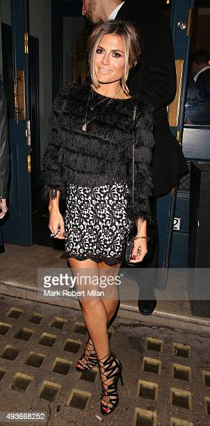Zoe Hardman attending the Storm In A C Cup By Caroline Flack Book Launch Party on October 21 2015 in London England