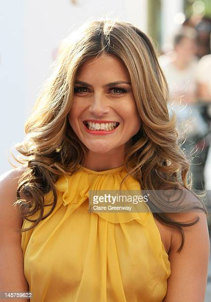 Zoe Hardman attends The Arqiva British Academy Television Awards 2012 at The Royal Festival Hall on May 27 2012 in London England