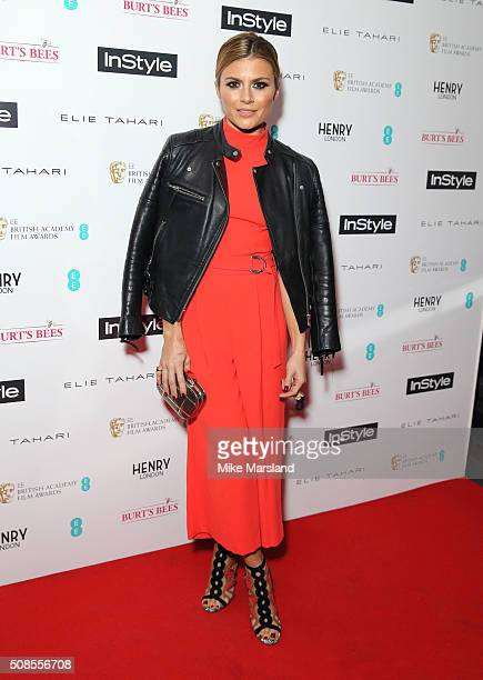 Zoe Hardman attends the InStyle EE Rising Star PreBAFTA Party at 100 Wardour Street on February 4 2016 in London England
