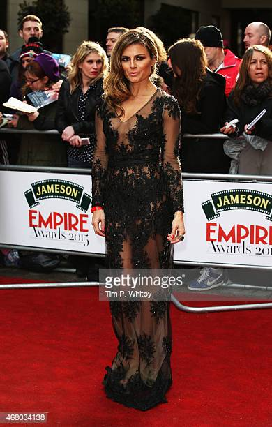 Zoe Hardman attends the Jameson Empire Awards 2015 at Grosvenor House Hotel on March 29 2015 in London England
