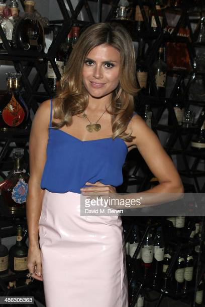 Zoe Hardman attends the launch of Behind The Mask by Killing Kittens founder Emma Sayle at Salvatore's Baroque at The Playboy Club on April 23 2014...