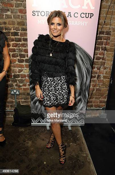 Zoe Hardman attends the launch of Caroline Flack's new autobiography Storm In A C Cup at Library on October 21 2015 in London England