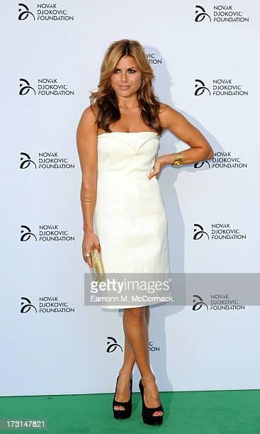 Zoe Hardman attends the Novak Djokovic Foundation London gala dinner at The Roundhouse on July 8 2013 in London England
