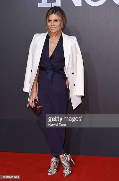 Zoe Hardman attends the World Premiere of 'Insurgent' at Odeon Leicester Square on March 11 2015 in London England