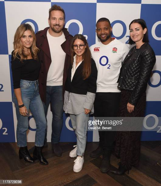 Zoe Hardman Paul Doran Jones Louise Thompson JB Gill and Kirsty Gallacher were at The O2 for the world's first live TV ad powered by O2 5G