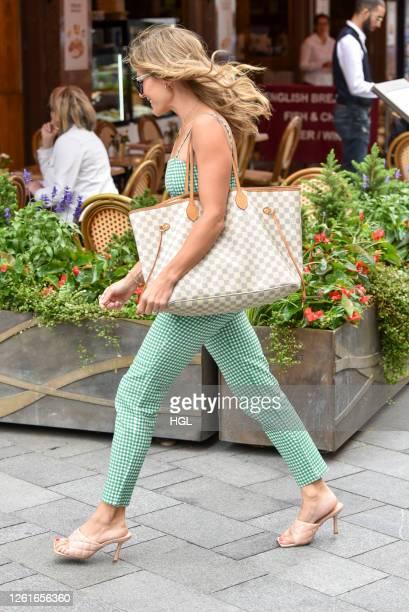 Zoe Hardman sighting on July 28 2020 in London England