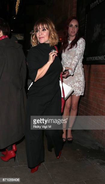 Zoe Henry and Kate Oates attend the Inside Soap Awards held at The Hippodrome on November 6 2017 in London England