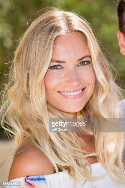 Zoe Hobbs attends RHS Chelsea Flower Show press day at Royal Hospital Chelsea on May 22 2017 in London England