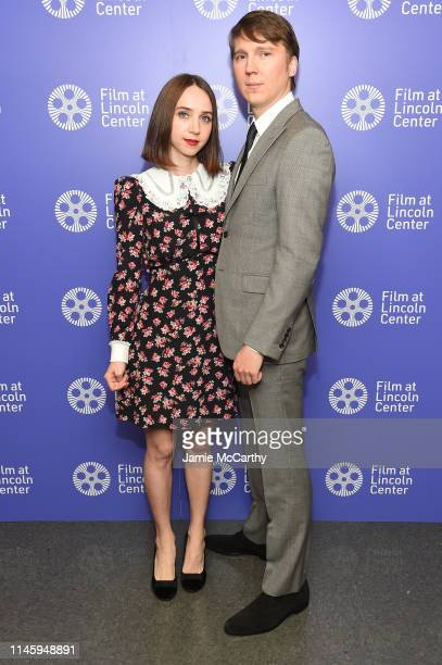 Zoe Kazan and Paul Dano attend the Film Society Of Lincoln Center's 50th Anniversary Gala at Lincoln Center on April 29 2019 in New York City