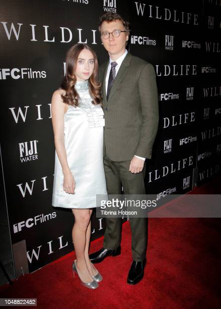 Zoe Kazan and Paul Dano attend the Los Angeles premiere for IFC Films 'Wildlife' at ArcLight Hollywood on October 9 2018 in Hollywood California