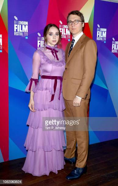 Zoe Kazan and Paul Dano attend the UK Premiere of 'Wildlife' at the 62nd BFI London Film Festival on October 13 2018 in London England