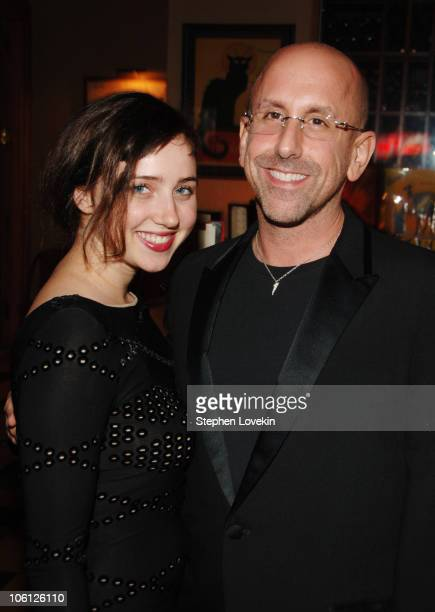 Zoe Kazan and Scott Elliott director during 'The Prime of Miss Jean Brodie' Opening Night at Pigalle in New York City New York United States