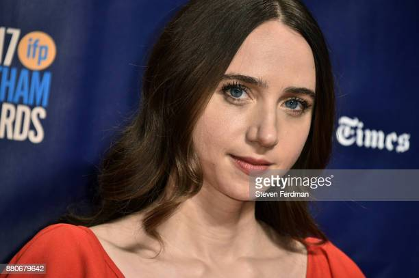 Zoe Kazan attends IFP's 27th Annual Gotham Independent Film Awards at Cipriani Wall Street on November 27 2017 in New York City