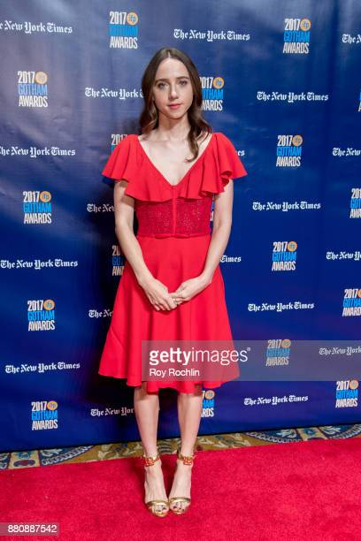 Zoe Kazan attends the 2017 IFP Gotham Awards at Cipriani Wall Street on November 27 2017 in New York City