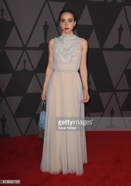 Zoe Kazan attends the Academy of Motion Picture Arts and Sciences' 9th Annual Governors Awards at The Ray Dolby Ballroom at Hollywood Highland Center...