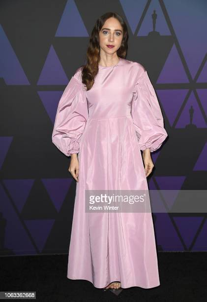 Zoe Kazan attends the Academy of Motion Picture Arts and Sciences' 10th annual Governors Awards at The Ray Dolby Ballroom at Hollywood Highland...