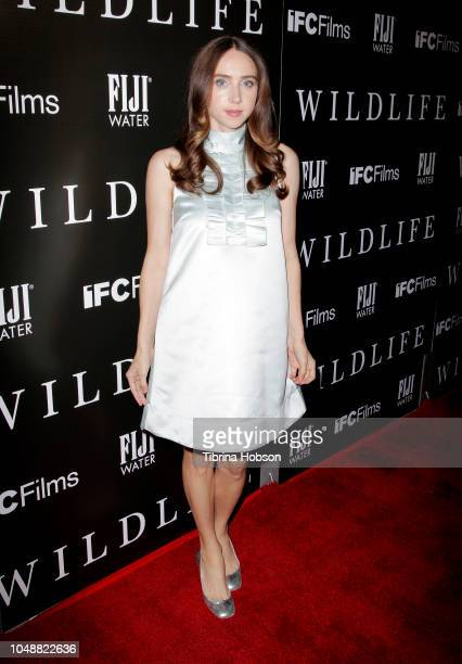 Zoe Kazan attends the Los Angeles premiere for IFC Films 'Wildlife' at ArcLight Hollywood on October 9 2018 in Hollywood California