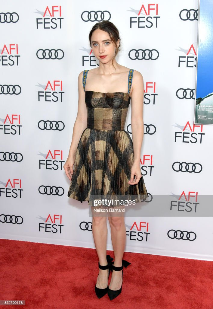Zoe Kazan attends the screening of 'Call Me By Your Name' at AFI FEST 2017 Presented By Audi at TCL Chinese Theatre on November 10, 2017 in Hollywood, California.